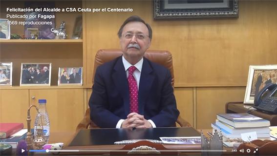 Felicitación alcalde de Ceuta