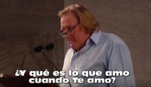 Depardieu lee a San Agustín