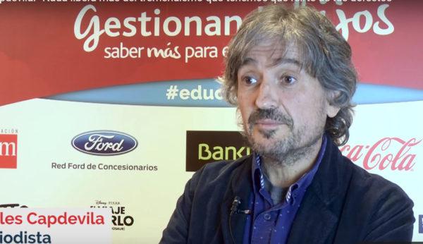 Nada libera más del tremendismo que tenemos que reírte de tus defectos (Carles Capdevila)