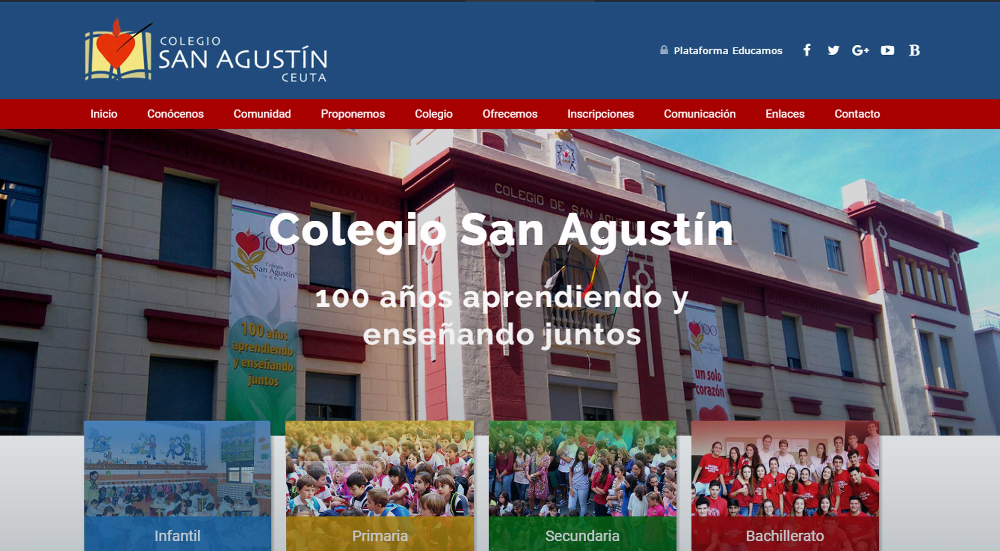Nueva web del colegio