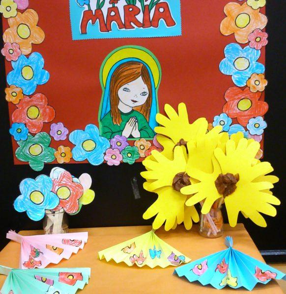 Mes de mayo , mes de María