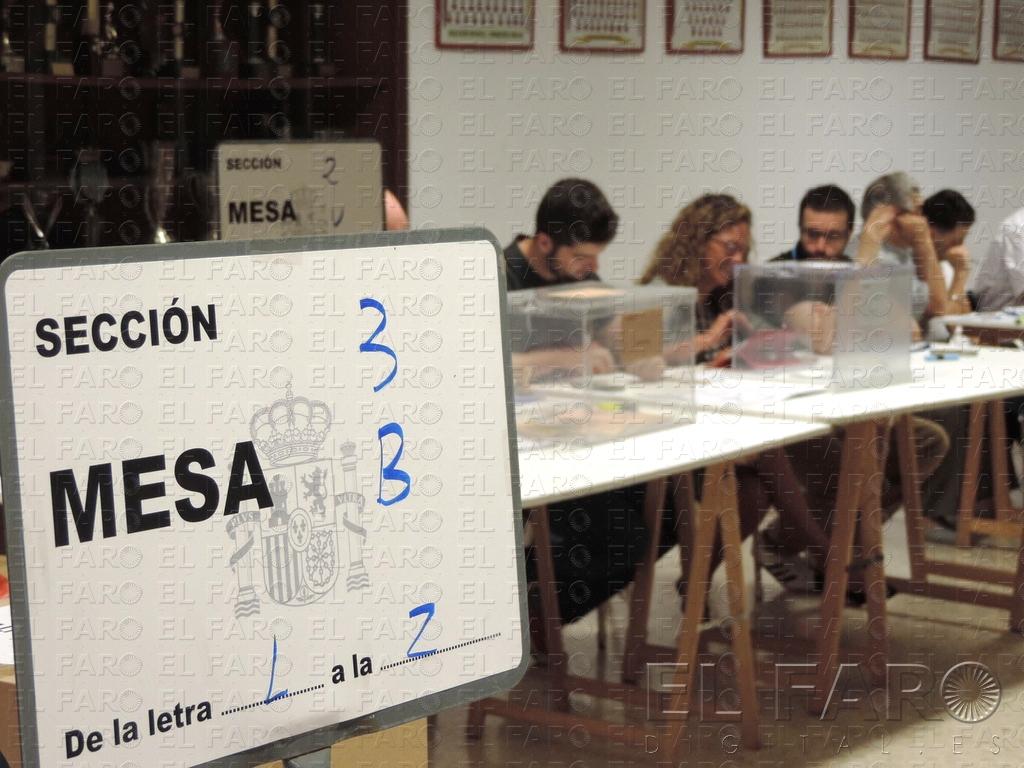 Nuestro cole también ha sido colegio electoral