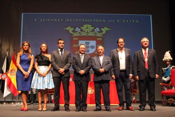 Día de Ceuta - Galardonados 2016