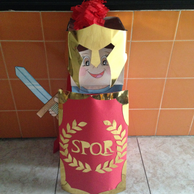Los alumnos de 5 años viajan en el tiempo hacia el Imperio Romano