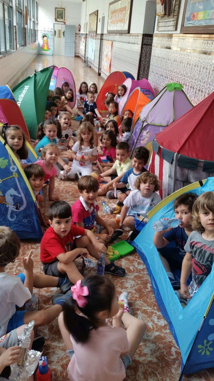 Una acampada especial