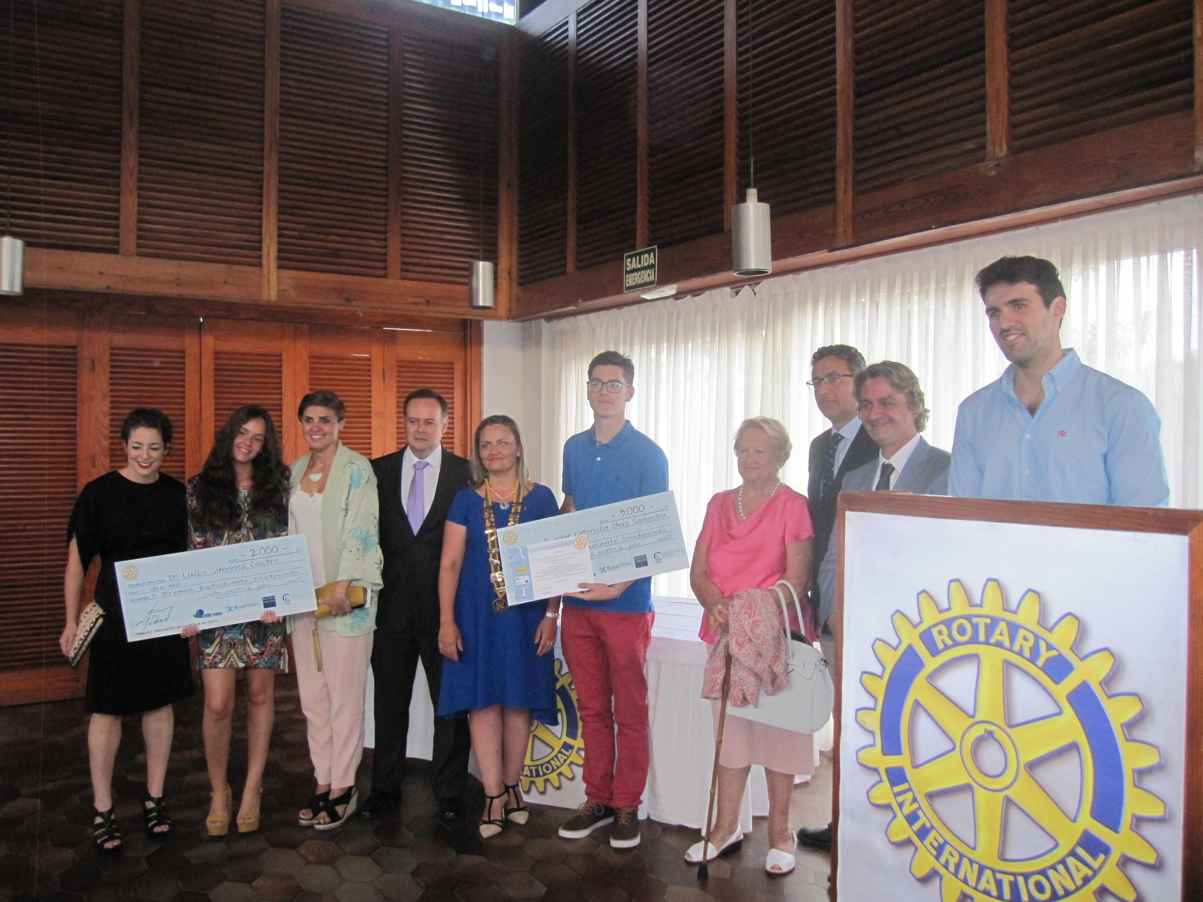 Premios Rotary Club 2017