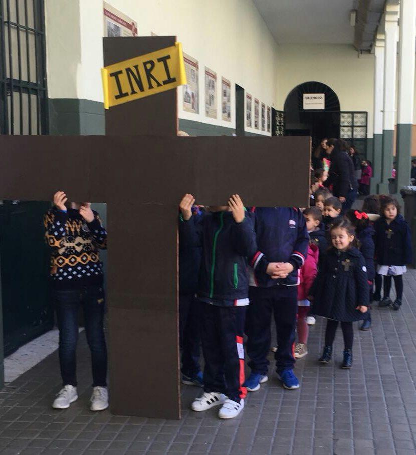 Vía Crucis de Infantil y Primaria
