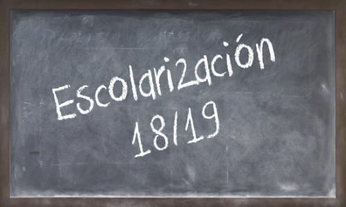 Escolarización 2018-2019 (Actualizado).