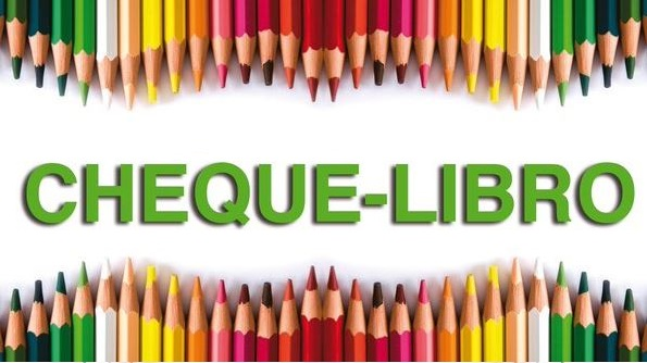 Cheque Libro para Educación Infantil, 1º y 2º de Primaria.