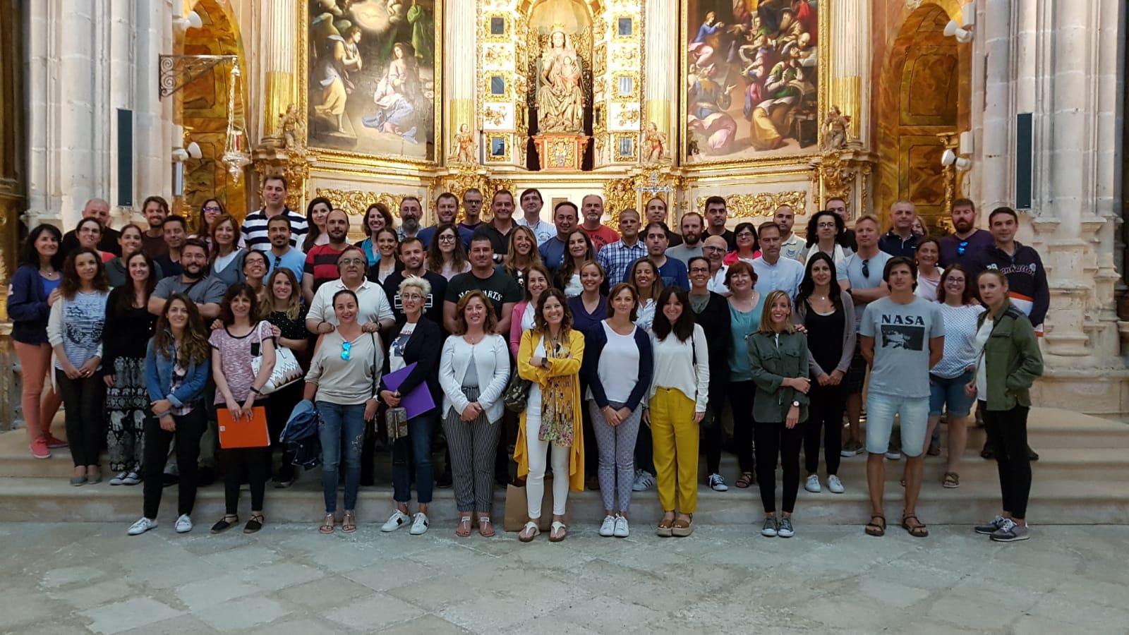 Formación en el Monasterio de la Vid.