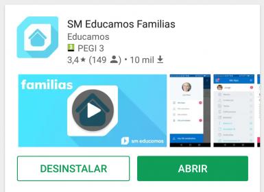 Nueva APP Educamos Para Familias.