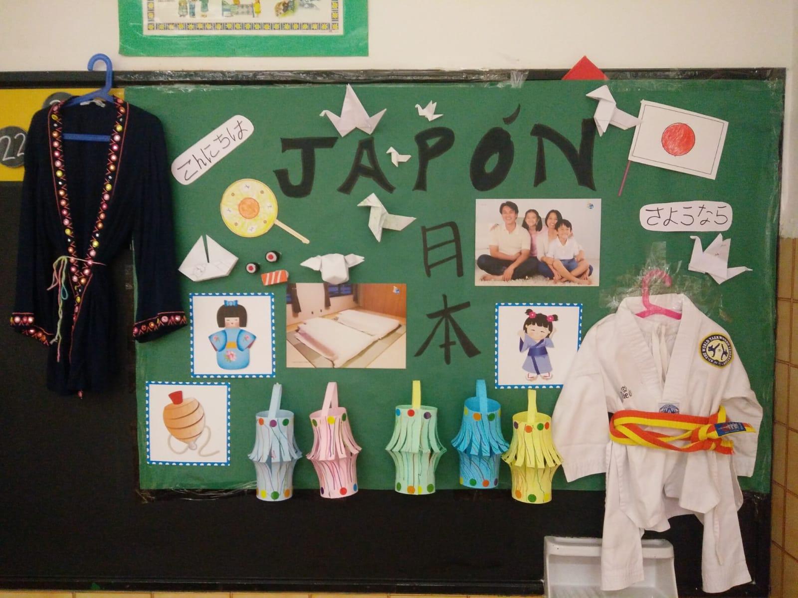 Proyecto Japón (Infantil 3 Años).