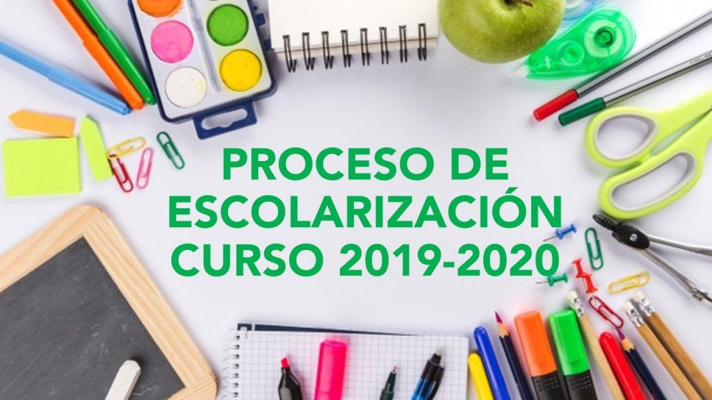 Escolarización 2019/2020 (Actualizado a 9 de mayo).