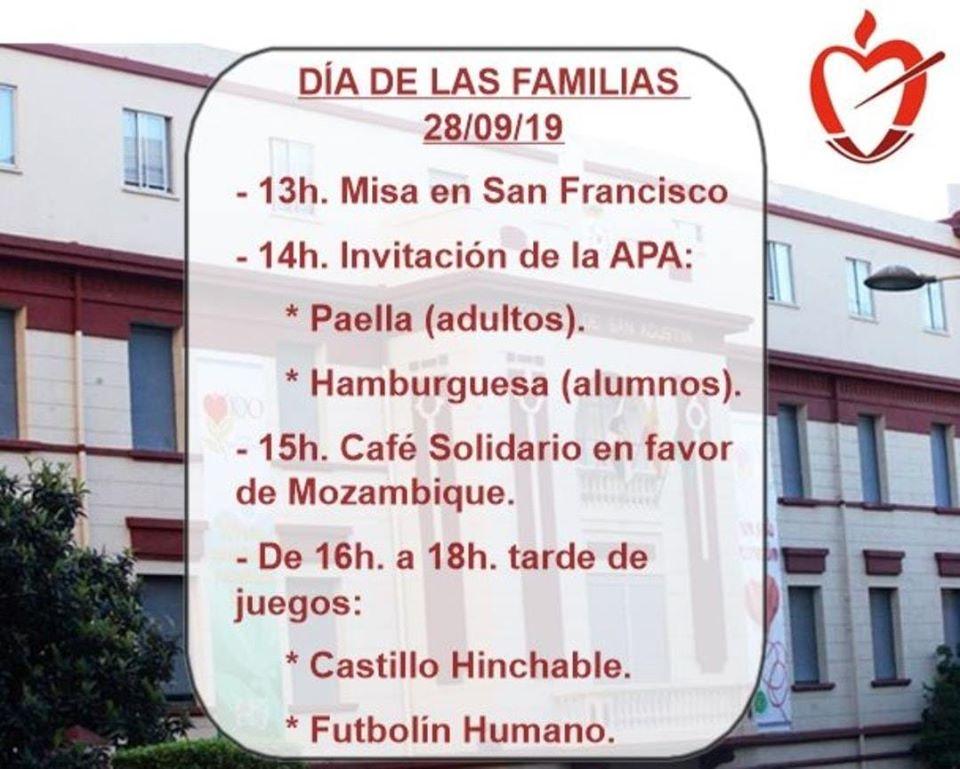 Programa Día de las Familias.