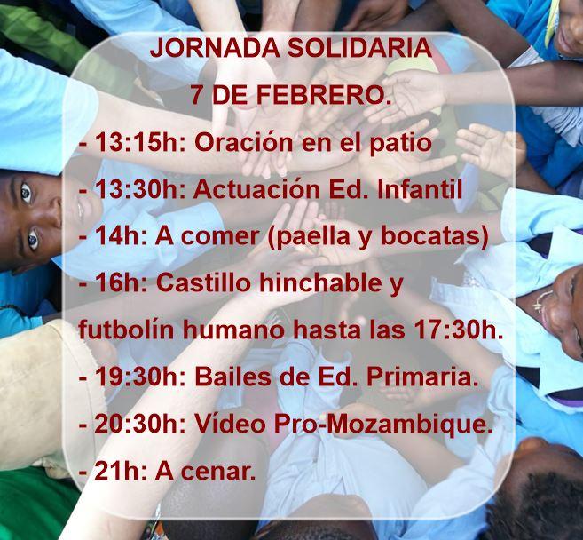 Jornada Solidaria 7 de febrero.