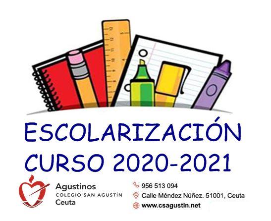 Escolarización 2020/2021.
