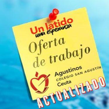 Oferta de Empleo San Agustín (Actualizado a 13 de noviembre).