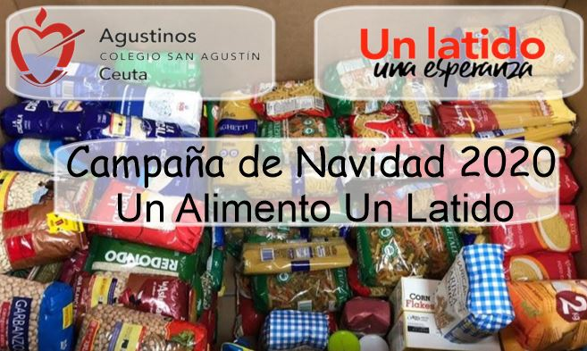 """Campaña de Navidad """"Un Alimento, Un Latido""""."""