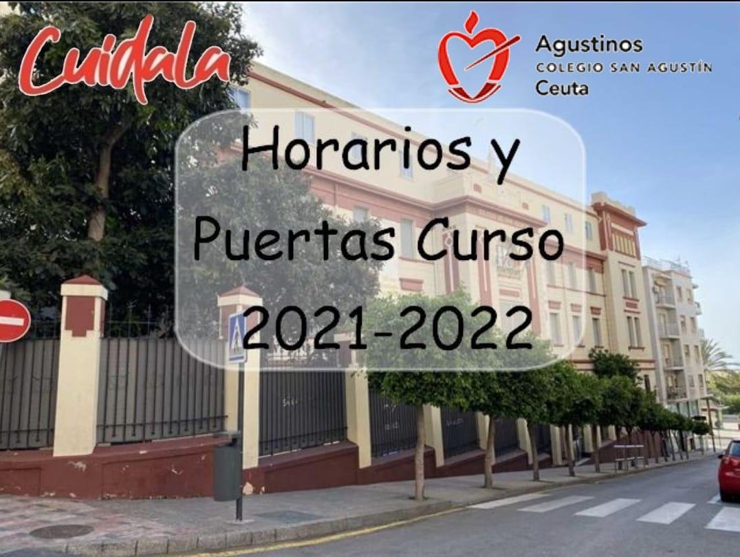 Horarios y Puertas Curso 2021-2022